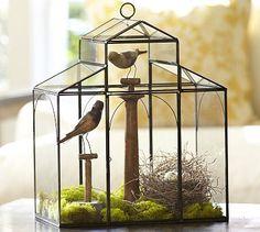 Glass House Terrarium #potterybarn