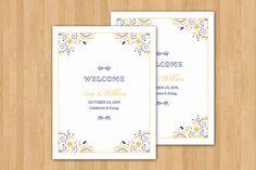Wedding Welcome Basket Tag  Wedding Favor by WeddingTemplateStock