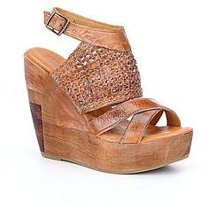 Bed Stu Petra Braided Wedge Sandals