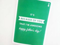 Awesomeness | 20 Father's Day Cards