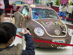 Trend: Chocolate Cars - Volkswagon Beetle: Imagine if one of these