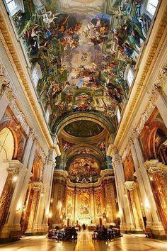Iglesia Sant Ignacio.#ROMA#***