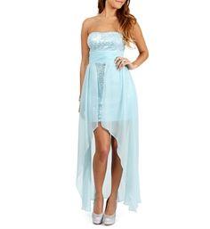 Sawyer- Ice Mint Prom Dress