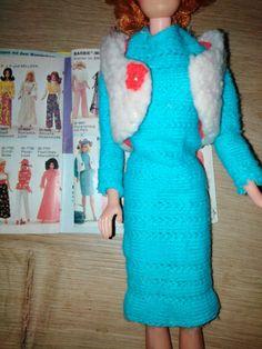 Vintage Barbie #7975 Maschenmode selten Germany | eBay Vintage Barbie, Dresses With Sleeves, Long Sleeve, Sweaters, Ebay, Fashion, Fashion Styles, Moda, Sleeve Dresses