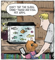 Not all glass is a touchscreen!