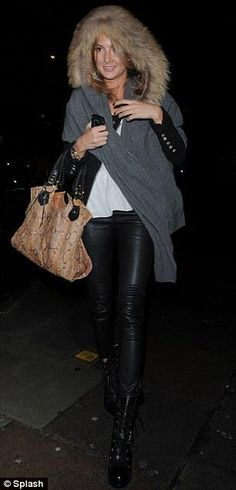 Millie Mackintosh from Made in Chelsea with Sarah Forsyth Lucinda Bag