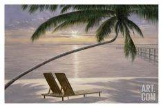 Chaise for Two Print