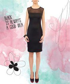 Elegant Black Dress by HannaBoutiqueHB on Etsy, €45.90