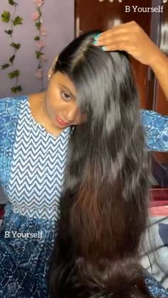Nice Hairstyles, French Braid Hairstyles, Easy Hairstyles For Long Hair, Hairdos, Curly Hair Tips, Curly Hair Styles, Easy Updo, Beautiful Hair Color, African Hair