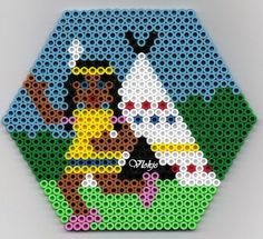 Image result for teepee perler