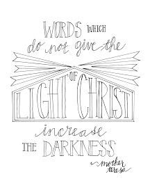 Look to Him and be Radiant: Mother Teresa Quote Coloring Pages Mother Teresa Quotes, Mother Quotes, Saint Teresa Of Calcutta, Quote Coloring Pages, Catechist, Saint Quotes, Religious Education, Religious Quotes, Note To Self