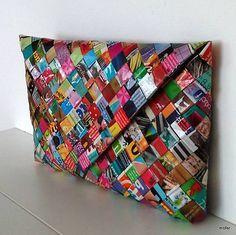 Hey, I found this really awesome Etsy listing at https://www.etsy.com/listing/236836250/magazine-handbag