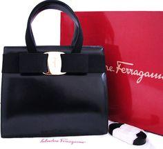 Ferragamo Vara bow handbag