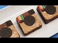 INSTAGRAM BROWNIES - NERDY NUMMIES - YouTube