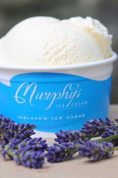 White Chocolate and Lavender Ice Cream