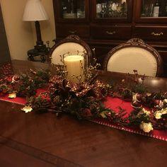 Navidad 2015 Centro mesa
