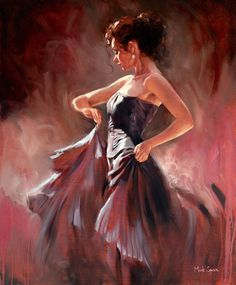 Flamenco dancer oil painting Giclee Art Printed on canvas - Painting - Ideas of Painting Mode Poster, Spanish Dancer, Dance Paintings, Ink Paintings, Indian Paintings, Art Disney, Dance Art, Jazz Dance, Latin Dance