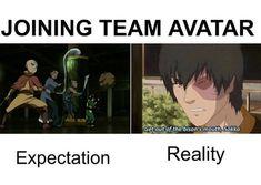 Avatar The Last Airbender Funny, Avatar Funny, Avatar Airbender, Avatar Aang, Atla Memes, Avatar World, Avatar Characters, Avatar Series, Korrasami
