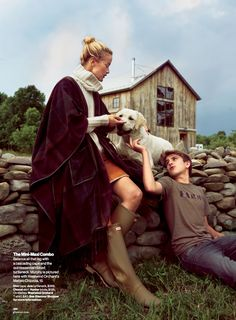 farm fresh: carolyn murphy by cedric buchet for glamour september 2014