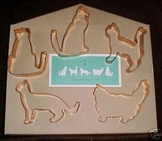 Martha Stewart By Mail Copper Cat Cookie Cutters,Unused (05/04/2008)