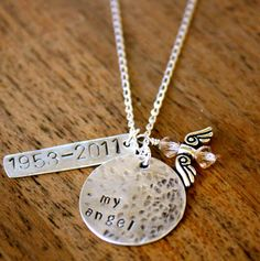 Memorial necklace.. I want one ASAP