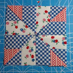 Farmer's Wife Quilt-a-Long Block Quilting Tutorials, Quilting Projects, Quilting Designs, Sewing Projects, Quilt Block Patterns, Pattern Blocks, Quilt Blocks, Farmers Wife Quilt, Quilt Of Valor