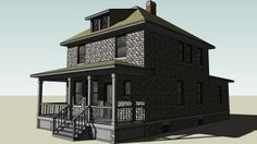 Four Square House - 3D Warehouse