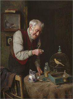 Charles Spencelayh (1865/1958) - Pintor Inglês.