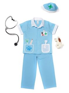 Pet Vet Animal Doctor fancy dress with toy stethoscope & plush puppy toy BNWT TU | Clothes, Shoes & Accessories, Fancy Dress & Period Costume, Fancy Dress | eBay!