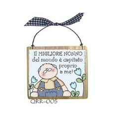 Learning Italian, Wooden Signs, Decoupage, Diy And Crafts, Christmas Ornaments, Iphone, Holiday Decor, Comics, Frases