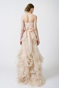 If I could have a wedding do-over, this Vera Wang would be on my wishlist!