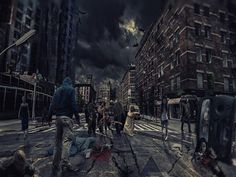 Can viruses, parasites, bacteria, and neurotoxins really cause a zombie apocalypse. If so, will a zombie apocalypse happen. Read what science says. The Walking Dead, Walking Dead Season, Photomontage, Stickman Legends, Photo Café, New Zombie, Zombie Age, Places In Chicago, Chicago Chicago
