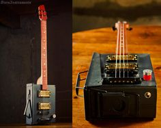 Electric Guitar Ammo Box 011 by sterainstruments on Etsy, $360.00