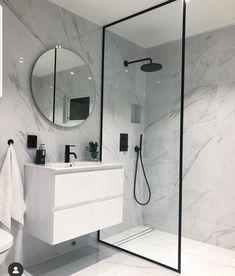 Bad Inspiration, Bathroom Inspiration, Bathroom Ideas, Bath Ideas, Budget Bathroom, Bathroom Layout, Interior Inspiration, Shower Ideas, Rental Bathroom
