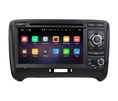 """Octa core Android6.0 2din 7"""" car video player for Audi TT 2006 2007 2008 2009 2010 2011 2012 2013 with 4G WIFI bluetooth OBD DVR"""