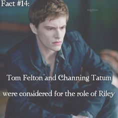 twiliqht fact.im sorry I would've hated Channing Tatum for The role!!!