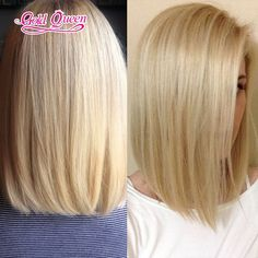 127.14$  Buy here - http://aliqhr.worldwells.pw/go.php?t=32327815870 - New beautiful blonde full lace wigs blonde human hair wigs short hair cuts blonde side part with baby hair glueless with combs