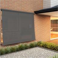 Windoware 1 8 X 2 1m Black Sunscreen Retractable Outdoor Blind