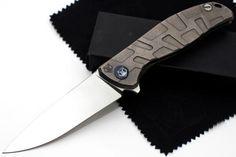 Shirogorov-Flipper-95-Elmax-Titan-folding-knife-w-bearings-Best-Russian-Knives