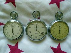 Eladó 3db régi stopper óra, 3000Ft/db. Acat stopper óra Made in USSR UMF Ruha német stopper óra (alkatrésznek, hiányos) AGAT orosz stopper óra. Átvétel csak személyesen a lakcímemen,Óbuda 3. ker.