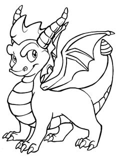 Template More Information Dragon Coloring Pages To Print