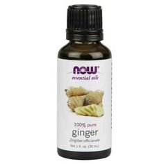 Now Foods Ginger Oil 1 Oz - Cardiovascular Health - Shop by Health Condition - Vitamins, Minerals, Herbs & More