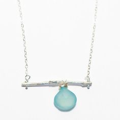 True Blue Necklace now featured on Fab. $49