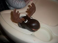 My sis-in-law collects moose.  Her birthday is this week.  Guess what she's getting?  :D