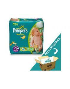 Pampers Baby Dry - Grösse 4+ Maxi Plus - Monats-Box, Gewicht: 9-20kg, Inhalt: 152 Stk. #windeln #baby