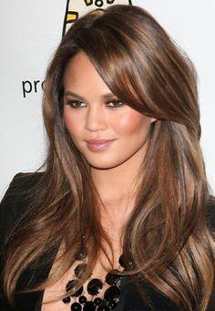 caramel honey brown hair - chocolate brown hair color