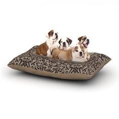 "KESS Original ""Damask"" Custom Dog Bed"