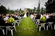 Mountain wedding ceremony Barbeque Wedding, Wedding Ceremony, Mountain, Wedding Ideas, Landscape, Scenery, Corner Landscaping, Wedding Ceremony Ideas, Mountaineering
