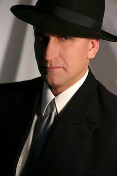1c34889dbd2dc Black wide brim felt fedora hat for men Wearing A Hat
