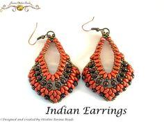 Indian Earrings in my version